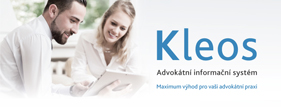 Kleos advokátní informační systém