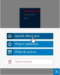 Vytvoření offline verze v aplikaci Smarteca - krok 2