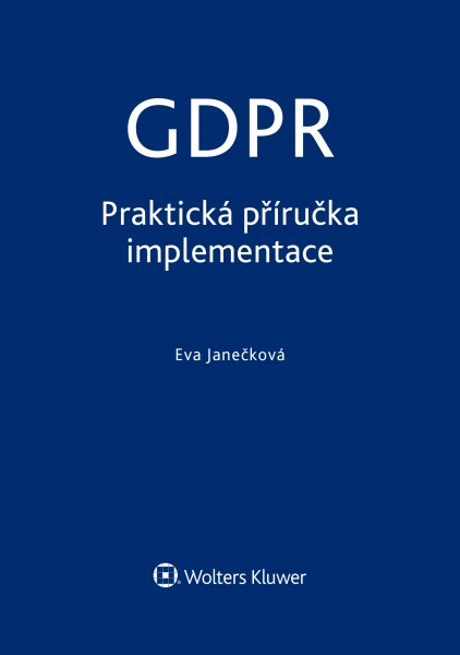 e-kniha GDPR praktická příručka
