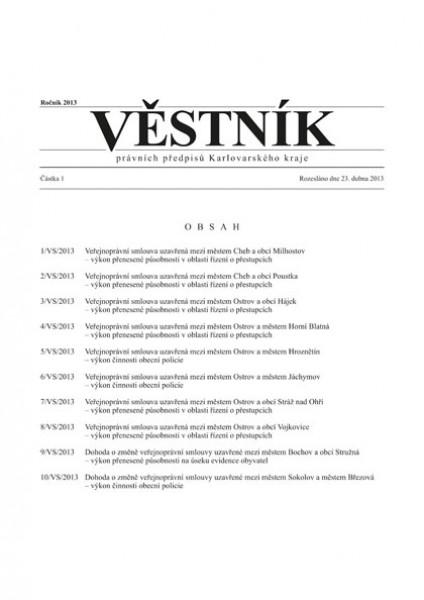 Věstník právních předpisů Karlovarského kraje