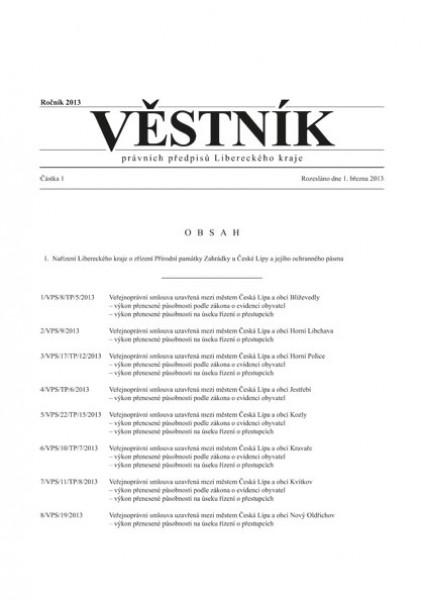 Věstník právních předpisů Libereckého kraje
