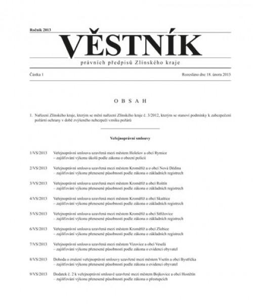 Věstník právních předpisů Zlínského kraje