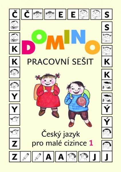 Domino Český jazyk pro malé cizince 1 - pracovní sešit