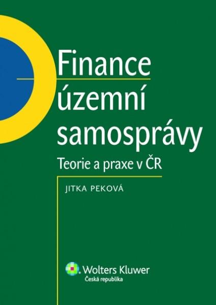 Finance územní samosprávy - teorie a praxe v ČR