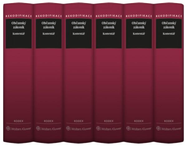 Občanský zákoník - Komentář - Svazek I–VI