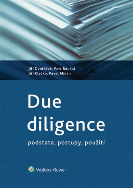 Due diligence - podstata, postupy, použití