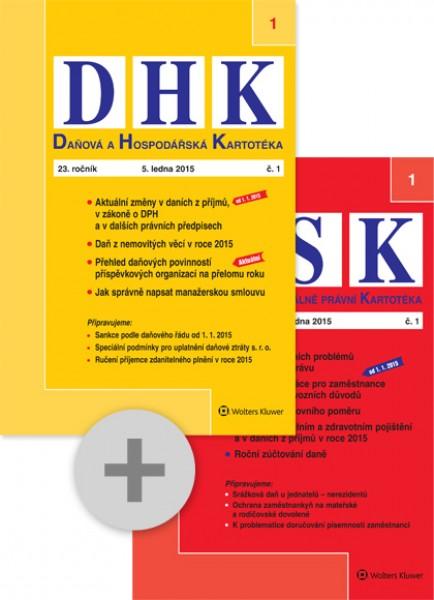 Balíček - Daňová a Hospodářská Kartotéka + Personální a Sociálně právní Kartotéka