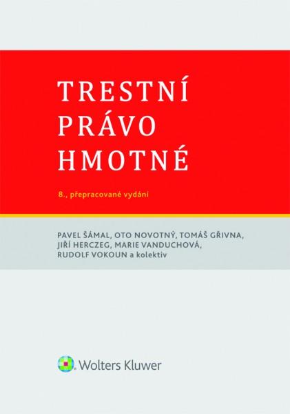 Trestní právo hmotné - 8. vydání