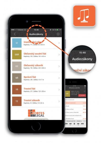 Audiozákony - Právní předpisy ve zvukové podobě