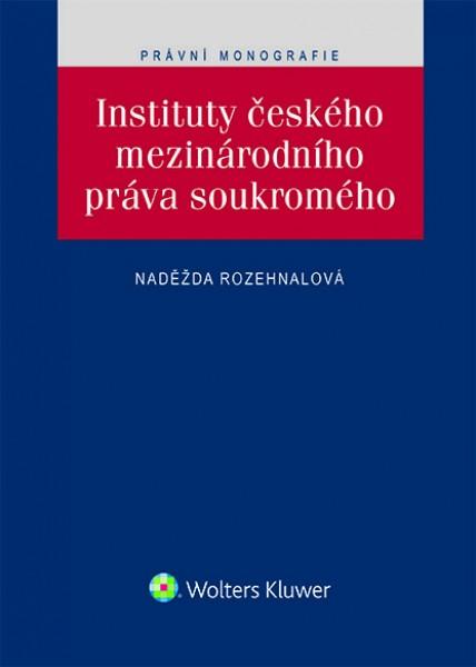 Instituty českého mezinárodního práva soukromého