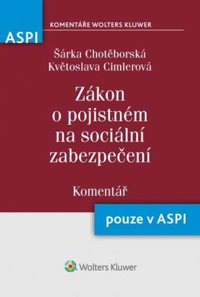 Zákon o pojistném na sociální zabezpečení (589/1992 Sb.) - Komentář