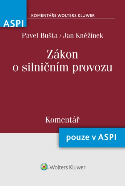 Zákon o silničním provozu (361/2000 Sb.) - Komentář