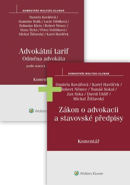 Komplet - Komentované předpisy pro advokáty