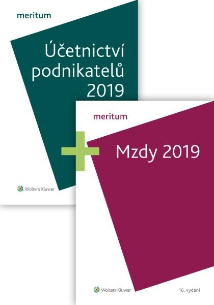 Komplet - MERITUM Mzdy a Účetnictví podnikatelů 2019