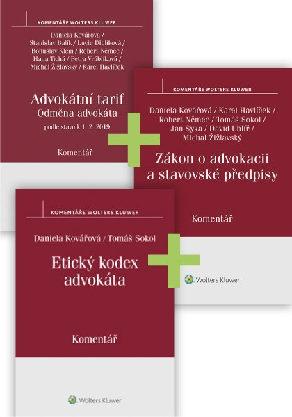 Komplet - Komentované předpisy pro advokáty II