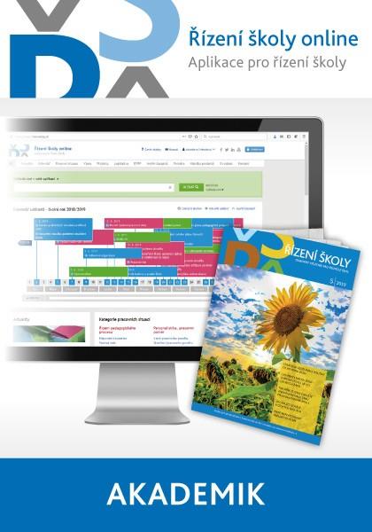 Řízení školy online - aplikace pro řízení školy - balíček Akademik