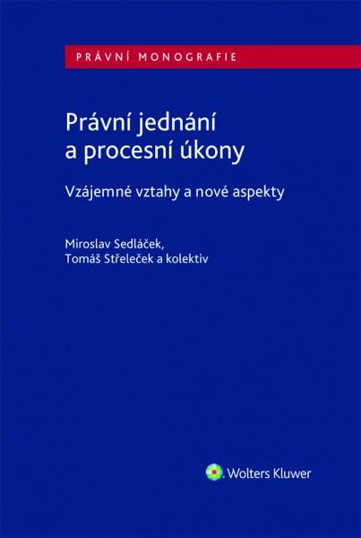 Právní jednání a procesní úkony, vzájemné vztahy a nové aspekty