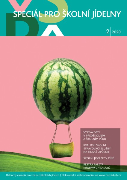 Speciál pro školní jídelny + časopis Řízení školy