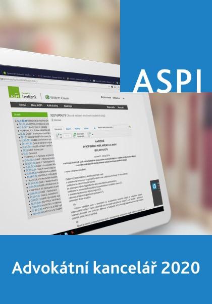 ASPI Advokátní kancelář 2020