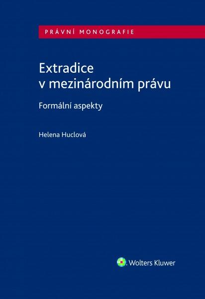 Extradice v mezinárodním právu. Formální aspekty