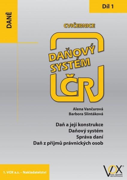 Cvičebnice Daňový systém ČR 2019, 1. díl