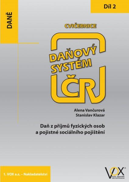 Cvičebnice Daňový systém ČR 2019, 2. díl