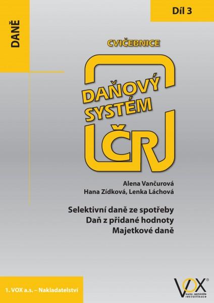 Cvičebnice Daňový systém ČR 2019, 3. díl