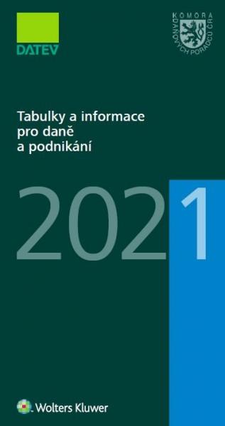 Tabulky a informace pro daně a podnikání 2021