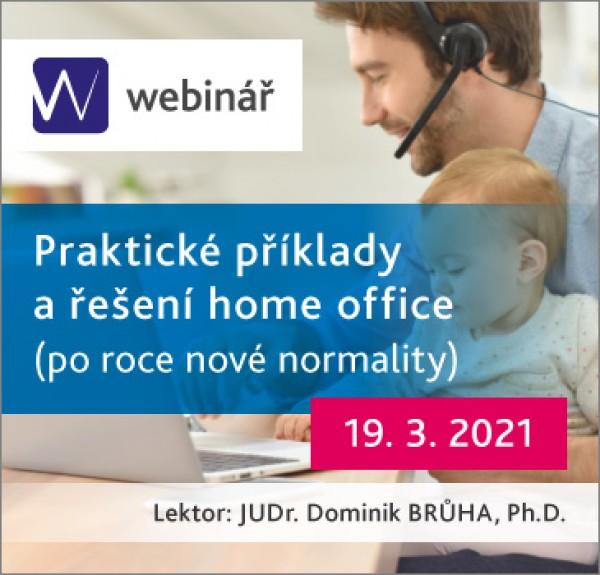 Praktické příklady a řešení home office po roce nové normality (WEBINÁŘ)