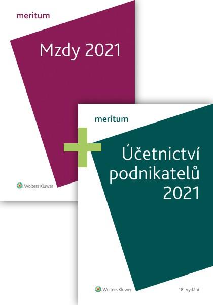 Komplet - MERITUM Mzdy a Účetnictví podnikatelů 2021