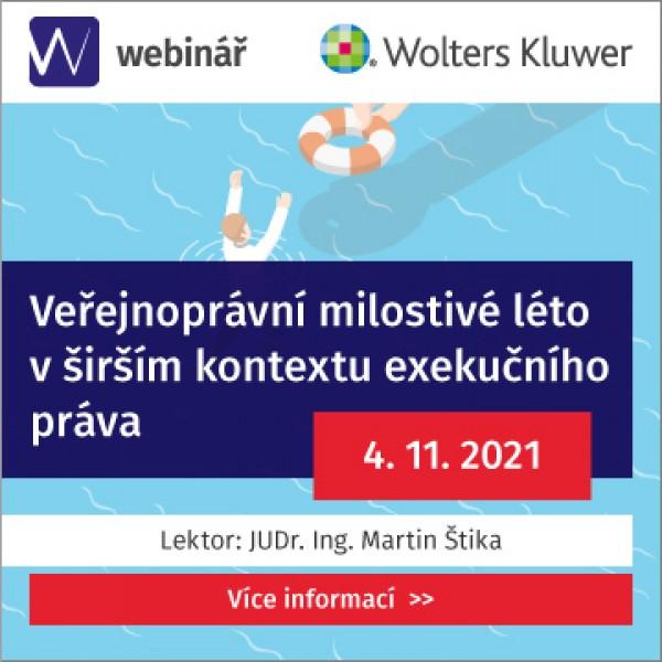 Veřejnoprávní milostivé léto v širším kontextu exekučního práva (WEBINÁŘ)