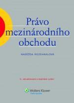 Právo mezinárodního obchodu, 3. vydání