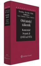 Občanský zákoník - Komentář - Svazek II (rodinné právo)