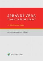 Správní věda. Teorie veřejné správy - 4., aktualizované a doplněné vydání