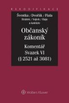 Občanský zákoník - Komentář - Svazek VI (relativní majetková práva 2. část)