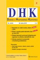Daňová a Hospodářská Kartotéka (DHK)