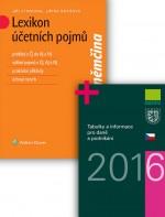 Komplet - Lexikon účetních pojmů + Tabulky