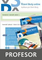 Řízení školy online - aplikace pro řízení školy - balíček Profesor