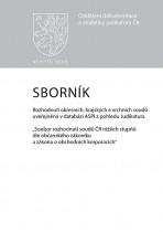 Sborník č. 1 Rozhodnutí okresních, krajských a vrchních soudů uveřejněná v databázi ASPI z pohledu Judikatura