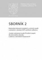 Sborník č. 2 Rozhodnutí okresních, krajských a vrchních soudů uveřejněná v databázi ASPI z pohledu Judikatura
