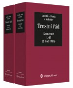 Trestní řád (č. 141/1961 Sb.) - Komentář