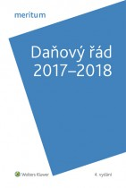 Meritum Daňový řád 2017-2018
