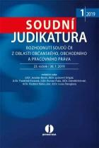 Soudní judikatura - rozhodnutí soudů z oblasti občanského, obchodního a pracovního práva