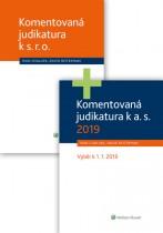 Komplet - Obchodní společnosti - komentovaná judikatura