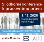 9. odborná konference k pracovnímu právu