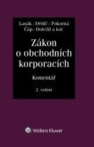 Zákon o obchodních korporacích (90/2012 Sb.). Komentář - 2. vydání