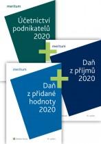 Komplet - MERITUM Účetnictví, DPH a Daň z příjmů 2020
