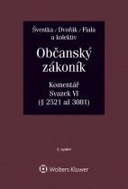 Občanský zákoník (zák. č. 89/2012 Sb.). Komentář. Svazek VI (závazkové právo – druhá část) - 2. vydání