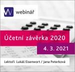 Účetní závěrka 2020 (WEBINÁŘ)