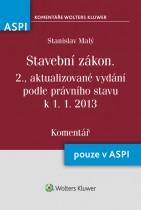 Stavební zákon (183/2006 Sb.) - komentář